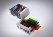 Transparente Massivplatten in vielen Farbtönen