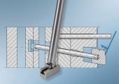 Entformung von Hinterschneidungen bei Werkzeugen mit engen Bauraum