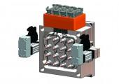 Heißkanalsystem mit elektrisch angetriebenem Nadelverschluss