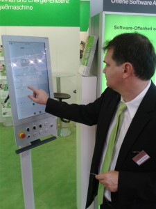 Multitouch-fähiges Bedien-Panel