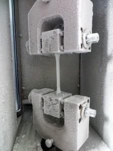 Prüfen geschweißter Fluorkunststoffbauteile