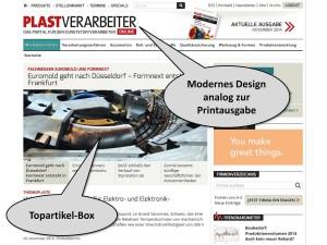 Relaunch von www.plastverarbeiter.de