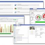 Darstellung von Echtzeitdaten und  Kennzahlen in der Produktion und im Management. (Bildquelle: MPDV)