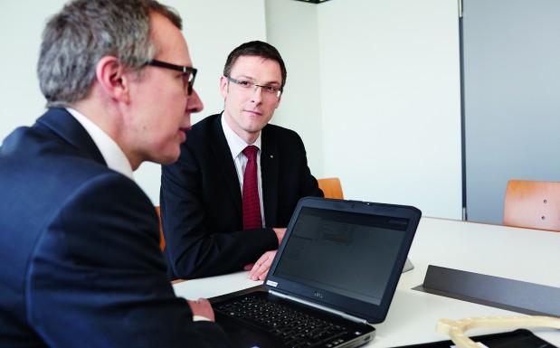 Im Interview stellen sich Prof. Frank Henning, ICT, und...