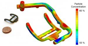 Virtual Molding berechnet Partikelseparation bei PIM-Anwendungen
