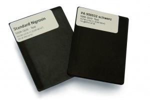 Schwarzeinfärbung auf Nigrosin-Basis