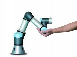 Flexibler, kollaborierender Leichtbau-Tischroboter