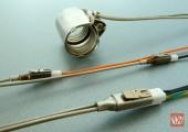 Steckverbindung für elektrische Heizelemente optimiert