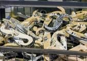 Reinigungsofen für die  thermische Entschichtung im Pyrolyseverfahren
