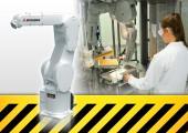 Sichere Zusammenarbeit von Mensch und Roboter