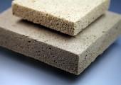 Platten aus Holzschaum - recycelbar und umweltschonend