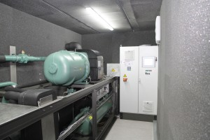 Die Kälteanlage hat einen deutlich geringeren Energieverbrauch als herkömmliche Anlagen. (Bildquelle: L&R)