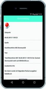Produktion bequem per App überwachen