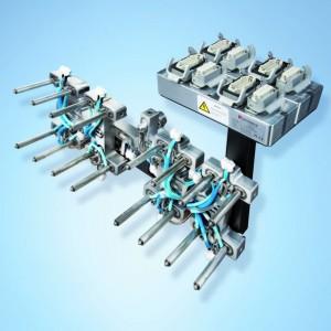 Komplett montiertes Heißkanalsystem zur Sofortinstallation (Bildquelle: Synventive)
