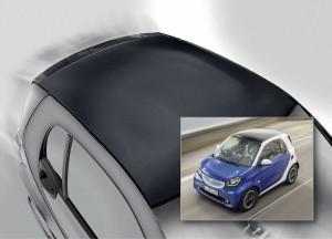 Wabentechnik auf dem Autodach