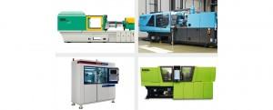 Eine der ersten Marktübersichten des Plastverarbeiter: Spritzgießmaschinen (Bildquelle: Arburg, Sumitomo (SHI) Demag, Witmann Battenfeld, Engel)