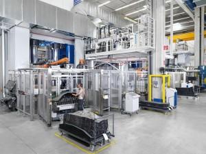 Maßgeschneiderte Systemlösung für carbonfaserverstärkter Bauteile