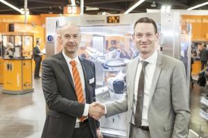 Robotik in Maschinensteuerung integriert