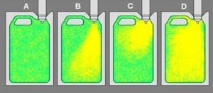 Die Blasdornkonstruktion und die Blasventilblöcke haben einen entscheidenden Einfluss auf die Luftverteilung im Blasformprodukt. (Bildquelle: Farragtech)