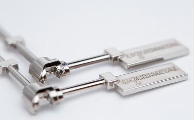 Für diese Demoteile kommt die Legierung LM105 zum Einsatz. Sie besteht im Wesentlichen aus Zirkonium, Kupfer, Nickel, Berilium, Titan und Aluminium. Kilopreis: 200 bis 250 Euro (Einstiegspreis bei geringer Abnahme). (Bildquelle: Engel)