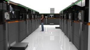 Der Anwender kann zukünftig mithilfe der Module die Anlage genau auf die Bauteilgeometrie und das Material abstimmen. Dadurch steigen die Verfügbarkeit und Effizienz. (Bildquelle: Concept Laser)