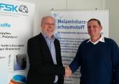 Harry Leichmann ist neuer Vorsitzender des FSK-AK Melaminharzschaum