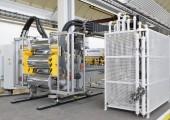 Mechatronische Glättwerke für die Produktion von PS und PP