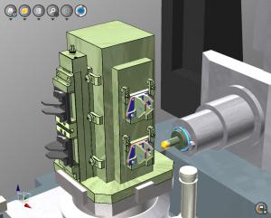 Werkzeugwechsel für die Mehrteilebearbeitung optimiert