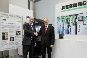 Arburg Innovation Center am KIT in Karlsruhe eröffnet