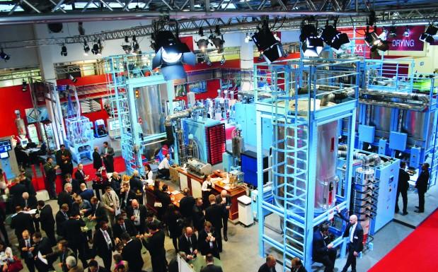 Ziel der Expotech, der Hausmesse im Rahmen der Samuplast, war der intensive Kontakt mit den Kunden.  (Bildquelle: Christine Koblmiller/Redaktion Plastverarbeiter)