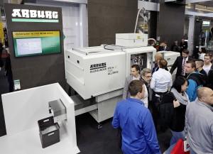 Spritzgießmaschine in Reinraumausfertigung (Bildquelle: Arburg)