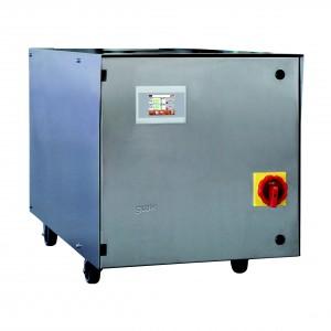 Das Temperiergerät ist für den Betrieb in Reinräumen nach EN ISO 14644 bis zur ISO-Klasse 6 geeignet. (Bildquelle: gwk).