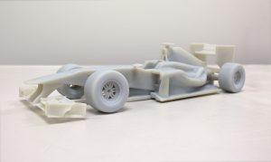 Ein Formel-1-Auto ausdrucken