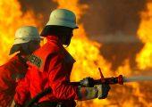 Halle auf Düsseldorfer Messegelände abgebrannt