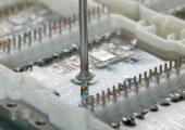 Silikongele schützen  Elektronik-Komponenten