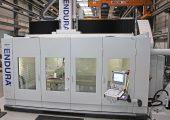 5-Achs-Fräsmaschine für hohe Schnittgeschwindigkeiten