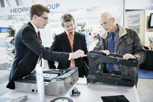 Die Composites Europe wird ergänzt durch das Lightweight Technologies Forum, das eine Ausstellung sowie Vorträge zur materialübergreifenden Schnittstelle von Metall- und Faserverbund-Technologien in Strukturbauteilen enthält. (Bildquelle: Composites Europe)