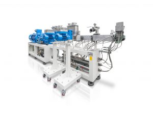 K 2016: Maschinenkomponenten im Grundrahmen integriert