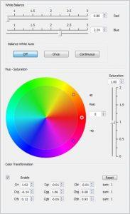 Colour-Widget (Bildquelle: AVT)