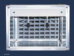Der Melaminharzschaumstoff trägt wesentlich zur passiven Schalldämpfung bei. (Bildquelle: BASF/ Howatherm)