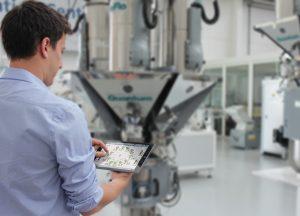Die Software überwacht und optimiert Produktionsprozesse (Bildquelle: Piovan)