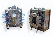 FDU-Werkzeug: Bei der Flat-Die-Unit-Technologie werden die Strömungskanäle auf  Flachdüsen projiziert. (Bildquelle: Haidlmair)