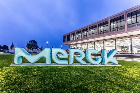 Platz 8 der größten deutschen Chemieriesen: Merck in Darmstadt liegt auf Platz 8, mit einem  Jahresumsatz von 12,8 Mrd. Euro dicht hinter... (Bild: Merck)