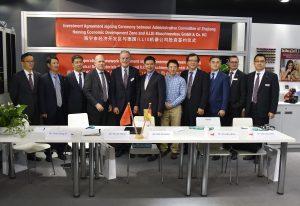 Illig vereinbart Zusammenarbeit mit chinesischer Provinzregierung