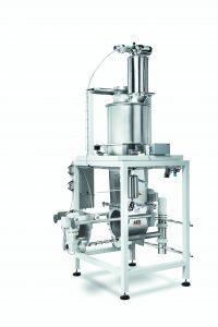 Kontinuierliches, gravimetrisches Dosieren von pulverförmigen Produkten