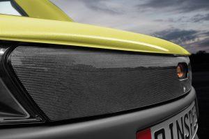 Neue 3D-Technologie an der Frontblende des Concept Cars (Bildquelle: Barlog)