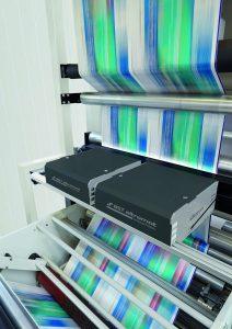 Das System verfügt über leistungsstarke Zeilenkameras, die über das gesamte Druckformat detailreiche Farbdaten liefern. (Bildquelle: BST)