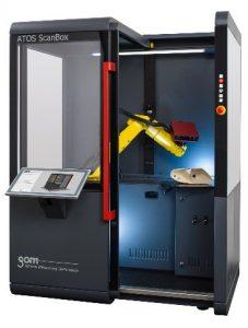 Optische 3D-Messmaschine (Bildquelle: GOM)