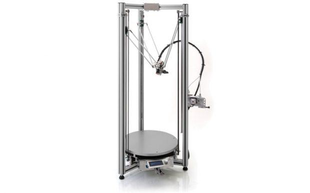 Die RTA-Serie von Deltatower, Schwarzenbach, enthält die FDM-Drucker RTA 500, Big RTA 700, Big RTA 900. Sie können je nach Modell Bauteile bis zu einer Größe von 900 x 900 x 1500 mm erstellen. (Bildquelle: Deltatower)