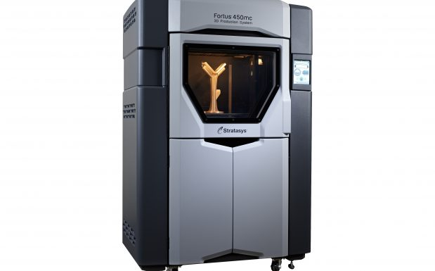 Die Fortus-Serie von Stratasys besteht aus FDM-Druckern, die Bauteile bis zur Größe von 914 x 610 x 914 mm mit einer Genauigkeit von ± 0,127 mm oder ± 0,0015 mm/mm erstellen. (Bildquelle: Stratasys)